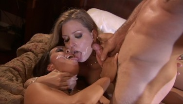 Mature sex threesome
